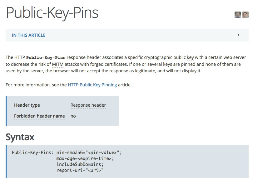 Http Public Key Pinning Header With Isam And Webseal Philip Nye